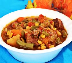 Crock-Pot Beef and Vegetable Soup