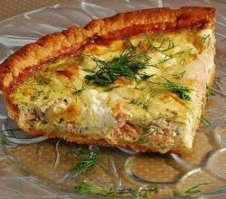 Crustless Crab Quiche With Curry Sauce