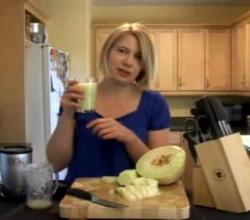 Cucumber Melon Refresher Drink - A Recipe by Luci Lock