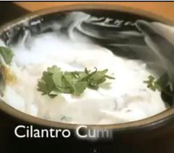Cumin Cilantro Crema