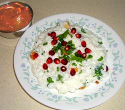 Curd Rice / Yogurt Rice