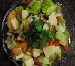Curried Pineapple Orange Salad