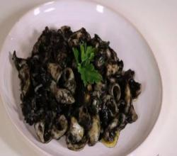 Cuttlefish in Squid Ink Sauce