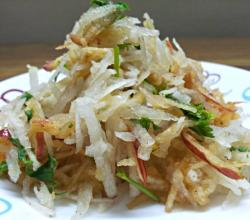 Easy Daikon Apple Salad