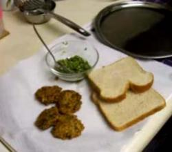 Split Moong Dal Fritters  Serve Part 7