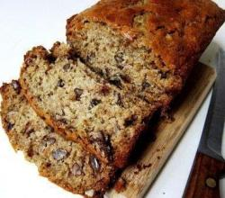 Dark Date Nut Bread