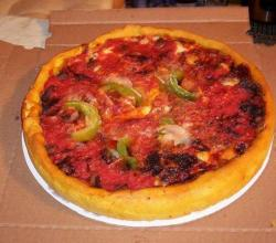 Deep Dish Jumbo Pizza