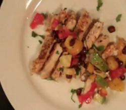 Delicious  Mango Salsa w/ Grilled Chicken