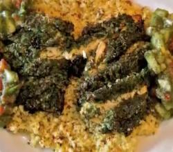 Dill Chicken With Cous Cous