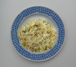 Dilled Green Cabbage