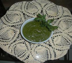 Coriander Mint and Pepper Chutney