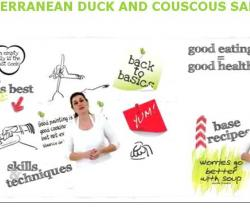 How to Make Middle Eastern Duck and Couscous Salad