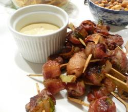 Bacon Rumaki With Water Chestnuts