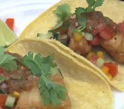 Easy  Fish Tacos With Fresh Salsa