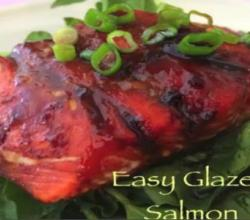 Easy Asian Glazed Salmon
