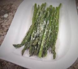 Easy Oven Roasted Asparagus - Healthy Side Dish by Rockin Robin