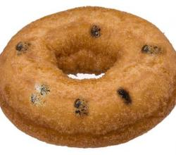 Easy Raisin Doughnuts