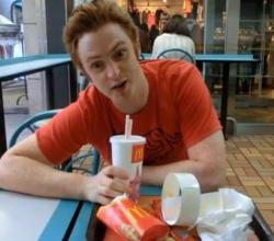 Eating McDonald's in Korea (Fast Food in Pyeongtaek, South Korea)