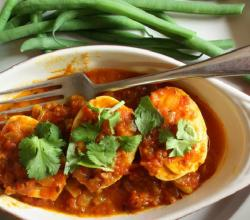 Madras Egg Curry