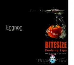 Cooking Tips - Eggnog