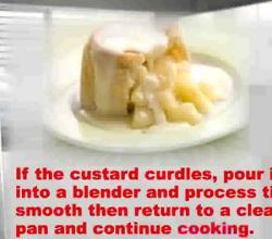 Hints and Tips for Making Lump-Free Egg Custard Sauce