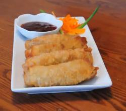 Egg Roll with Ground Pork