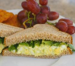 How To Make Egg Salad For Sandwiches And Lettuce Wraps - Easy, Delicious
