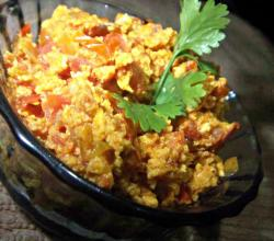 Egg Bhurji (Stir Fried Egg)