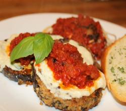 Eggplant Parmesan Light