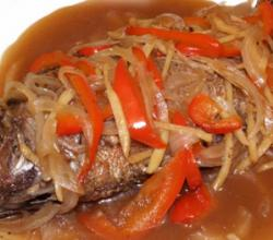 Escabecheng Tilapia With Oyster Sauce