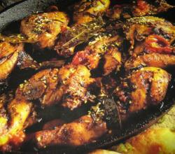 CHICKEN BASED IFTARI DINNER MENU