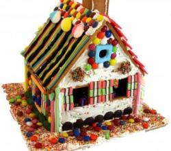 Ideas For Cool Gingerbread Houses For A Children's Gingerbread House Party
