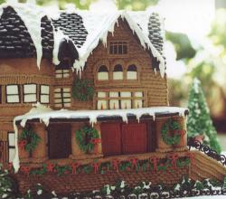 Ideas For Unique Gingerbread Houses For Gingerbread House Day Competition