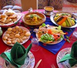 A Traditional Moroccan Dinner Menu