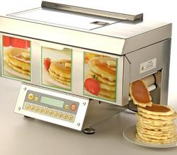 The ChefStack Pancake Machine: Pan-less pancakes!!
