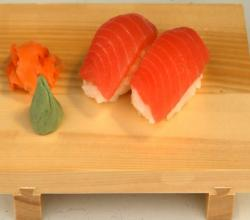Fatty Tuna Nigiri Zushi (Fatty Tuna Hand Formed Sushi)