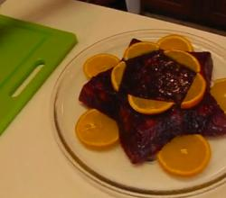 Holiday Special Cranberry-Orange Relish Mold