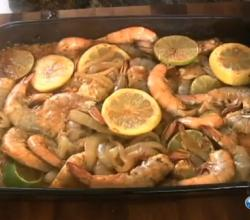 In the Kitchen with Ken: Fiery Smothered Shrimp