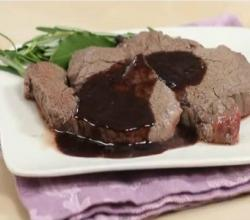 Fillet Steak with Red Wine Sauce - Quick