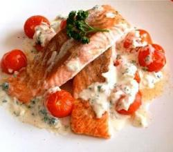 Fillets With Shrimp Sauce