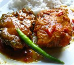 Typical Indian Fish Curry