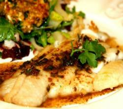 Monkfish Salad with Coriander and Mint