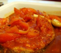 Fish Fillets In Tomato Sauce
