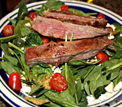 Grilled Flank Steak Cuban Style