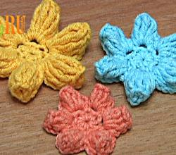 How To Crochet Flower Popcorn Stitches Tutorial 41 Part 3 of 3