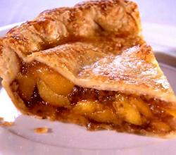 French Peach Pie