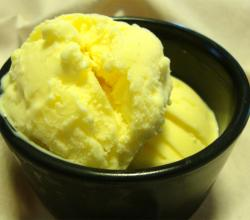 French Style Saffron Ice Cream
