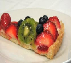 Lynn's Fresh Fruit Tart - July 4th