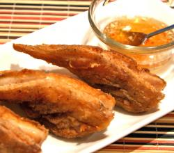 Deep Fried Battered Fish With Fenugreek Dip
