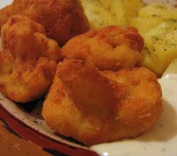Deep-Fried Cauliflower